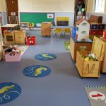 Photograph of Pewsey Pre-school's indoor setting.
